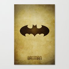 Bat Man Canvas Print