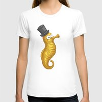 seahorse T-shirts featuring Seahorse by Lili Batista