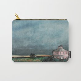 Storm over Pink House Newburyport MA Carry-All Pouch