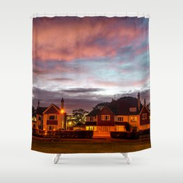 Colorfull Evening at Great Yarmouth UK Shower Curtain