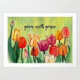Grow With Grace Art Print