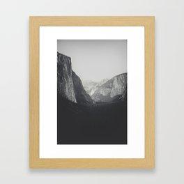 Yosemite Valley VI Framed Art Print