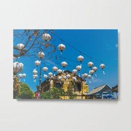 Lanterns in Hoi An, Vietnam Metal Print