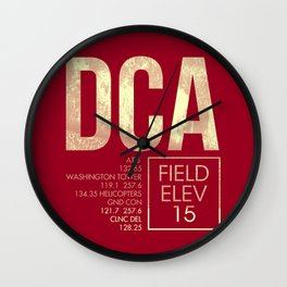 DCA Wall Clock