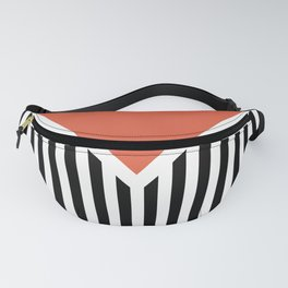 Orange triangle Fanny Pack