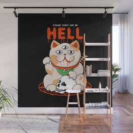 Come Visit Me In Hell Wall Mural