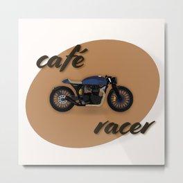Café racer bike Metal Print