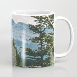 Two Jack Lake & Mt. Rundle Coffee Mug