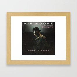 kip moore room to spare tour 2019 kepiting Framed Art Print