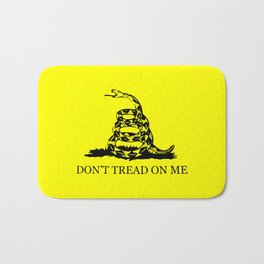 Gadsden flag - Don't tread on me Bath Mat