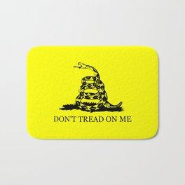 Gadsden flag - Don't tread on me Bath Mat