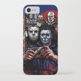 Horror Villains Selfie iPhone Case