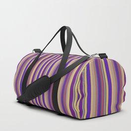 awning stripe Duffle Bag