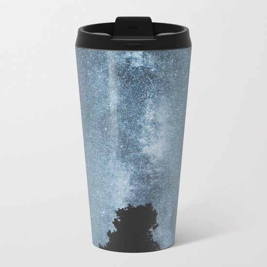 Stars over the Forest Metal Travel Mug