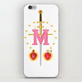 Immaculate Heart of Mary iPhone Skin