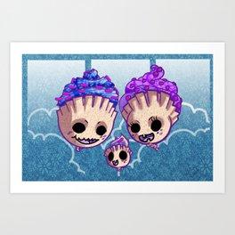 Cupincake Monster Art Print