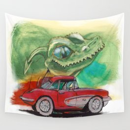 Raptors love vettes Wall Tapestry