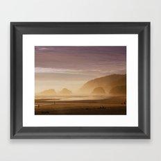 As Dusk Falls Framed Art Print