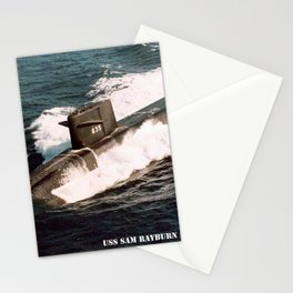 USS SAM RAYBURN (SSBN-635) Stationery Cards