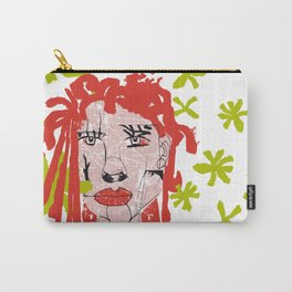 Mujer peliroja Carry-All Pouch