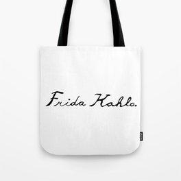 Frida Kahlo's Signature Tote Bag