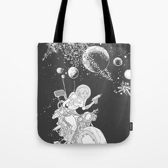 rocket lass Tote Bag