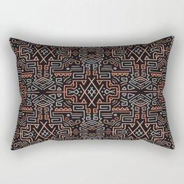 Autumn Tribal Pattern #2 Rectangular Pillow