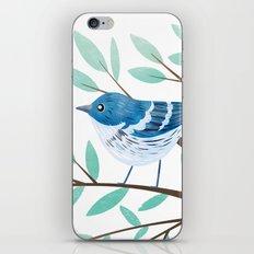 Cerulean Warbler iPhone & iPod Skin