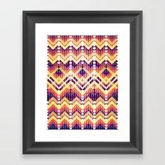 Triangles 3 Framed Art Print