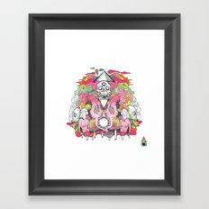 O K A Y Framed Art Print