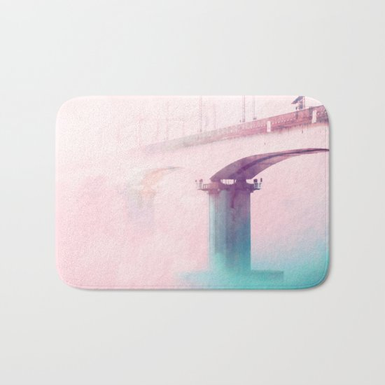 The Bridge to Heaven #society #decor #buyart Bath Mat
