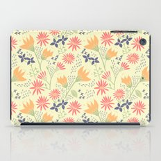 Autumn Floral Pattern iPad Case