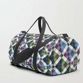 Retro Box Star Pattern Duffle Bag