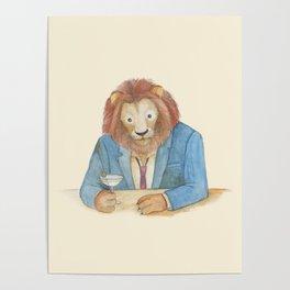 lion _ ligh Poster