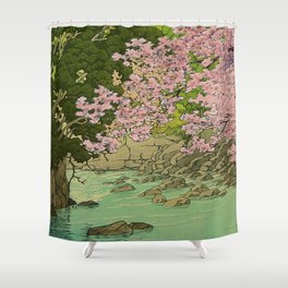 Shaha - A Place Called Home Shower Curtain