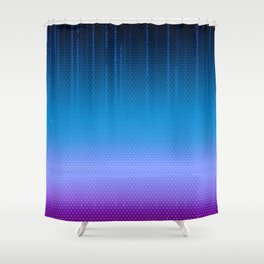 Sombra Skin Virus Pattern Shower Curtain