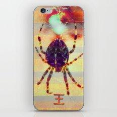 Radioactive spider iPhone & iPod Skin