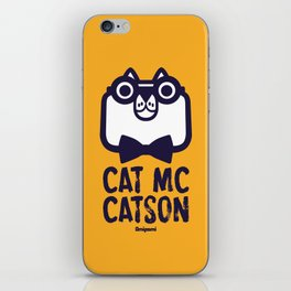 Cat Mc Catson iPhone Skin