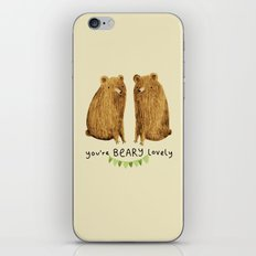 Beary Lovely iPhone & iPod Skin