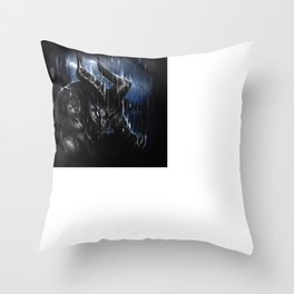 The Devil's cry Throw Pillow