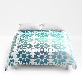 Pre-Columbian-Islamic Fusion Comforters
