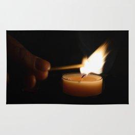 A candlelight dinner Rug