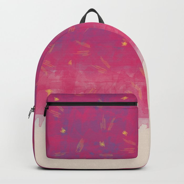 Abstract Beach Drapes Design Backpack
