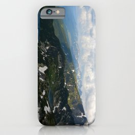 High Mountains Lakes iPhone Case