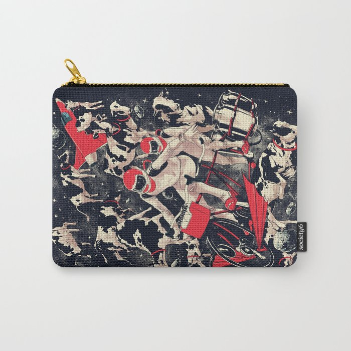 Space Dairy Farming Carry-All Pouch