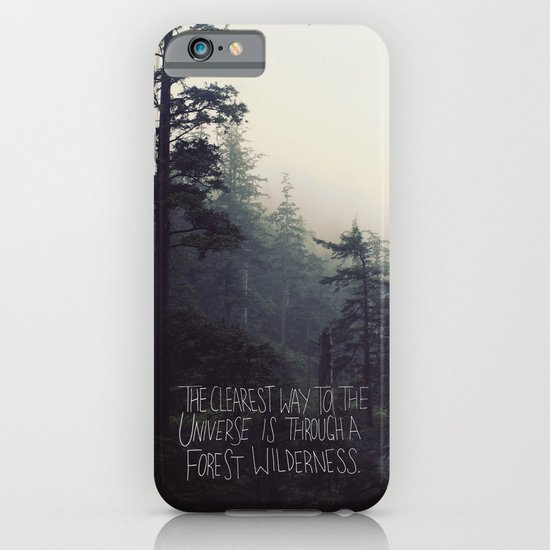 Forest Universe II iPhone & iPod Case
