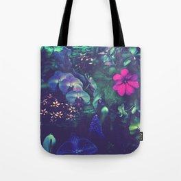Gathering of Flowers - [Purple Version] Tote Bag