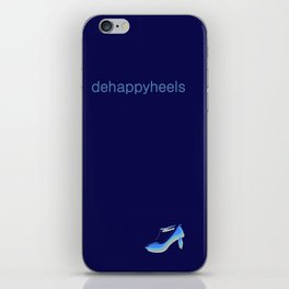 Mobile Dehappyheels Plain 1 iPhone Skin