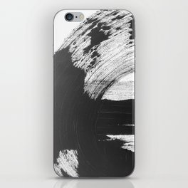 Black and White Gallery Wall Art iPhone Skin