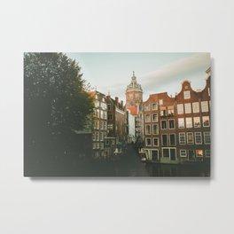 Old Amsterdam Metal Print